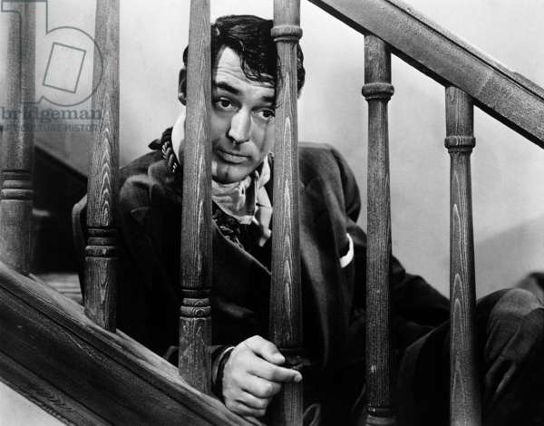 Arsenic and Old Lace directed by Frank Capra and starring Cary Grant, 1944 (b/w photo)