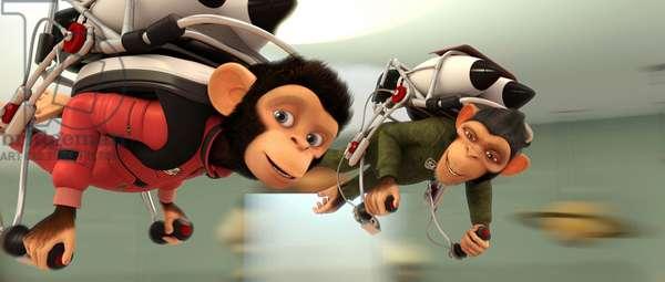 Les Chimpanzes de l'Espace