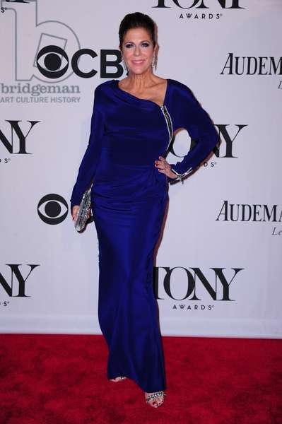 Rita Wilson (wearing Tom Ford) at arrivals for The 67th Annual Tony Awards - Part 2, Radio City Music Hall, New York, NY June 9, 2013. Photo By: Gregorio T. Binuya/Everett Collection