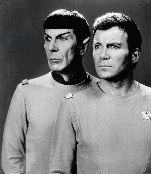 STAR TREK: THE MOTION PICTURE, Leonard Nimoy, William Shatner, 1979, (c) Paramount Pictures / Courtesy: Everett Collection
