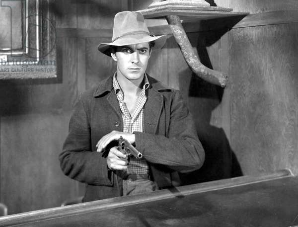 JESSE JAMES, Tyrone Power, 1939, TM & Copyright (c) 20th Century Fox Film Corp. All rights reserved.