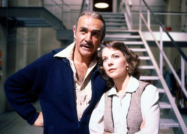 METEOR, Sean Connery, Natalie Wood, 1979. ©American International/courtesy Everett Collection