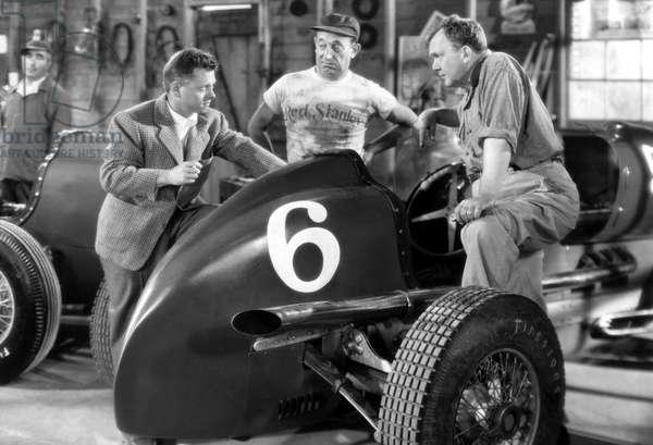 THE BIG WHEEL, Mickey Rooney, Allen Jenkins, Thomas Mitchell, 1949