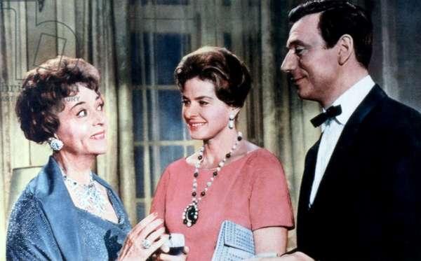 GOODBYE AGAIN, Jessie Royce Landis, Ingrid Bergman, Yves Montand, 1961