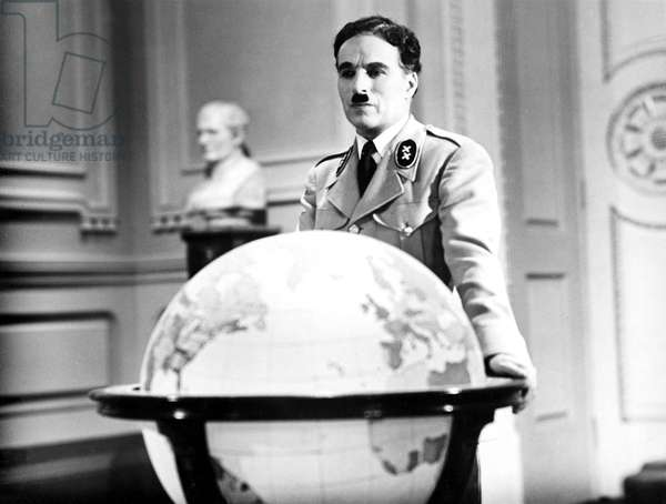 THE GREAT DICTATOR, Charlie Chaplin, 1940