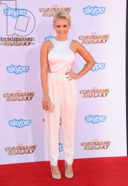 Emily Osment: Emily Osment at arrivals for GUARDIANS OF THE GALAXY Premiere, El Capitan Theatre, Los Angeles, CA July 21, 2014. Photo By: Dee Cercone/Everett Collection
