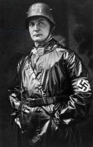 Hermann Goering, (1893-1946), German politician and military leader and leading member of the Nazi Party, 1923.