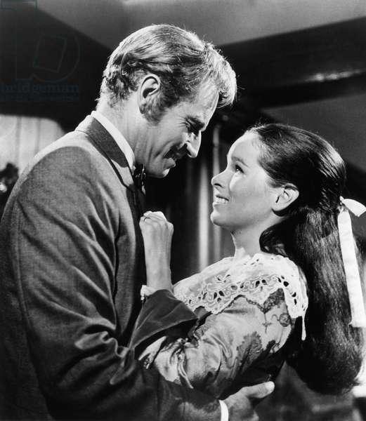 THE HAWAIIANS, Charlton Heston, Geraldine Chaplin, 1970
