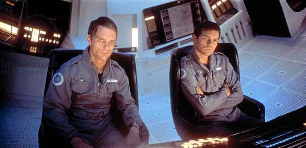 2001:A SPACE ODYSSEY, Keir Dullea, Gary Lockwood, 1968