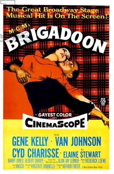 BRIGADOON, Cyd Charisse, Gene Kelly, 1954