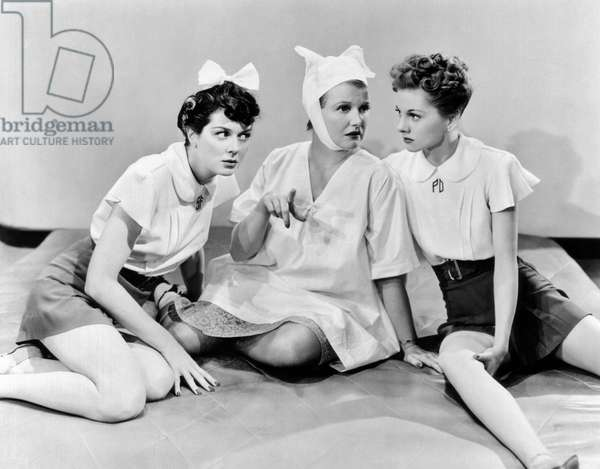 Femmes: THE WOMEN, from left: Rosalind Russell, Phyllis Povah, Joan Fontaine, 1939