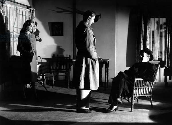 OUT OF THE PAST, Jane Greer, Robert Mitchum, Steve Brodie, 1947