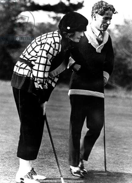 Charlie Chaplin et Pola Negri