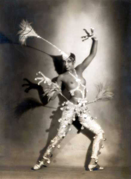 Josephiine Baker, circa 1927 in France