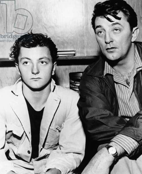 THUNDER ROAD, James Mitchum, Robert Mitchum, 1958