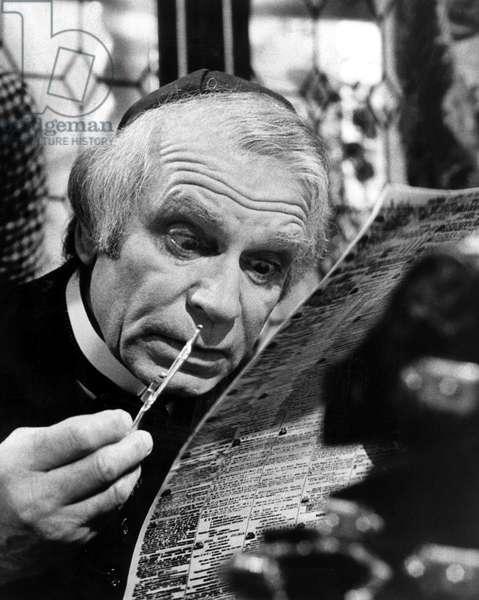 MERCHANT OF VENICE, Laurence Olivier, 1973, (c)ATV/courtesy Everett Collection