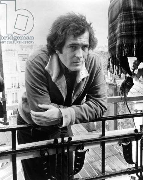 Le dernier tango a Paris: LAST TANGO IN PARIS, director Bernardo Bertolucci, on-set, 1972