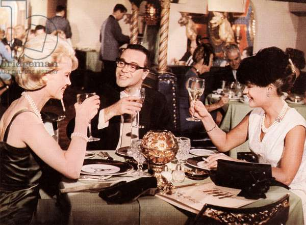 GOOD NEIGHBOR SAM, Dorothy Provine, Jack Lemmon, Romy Schneider, 1964.