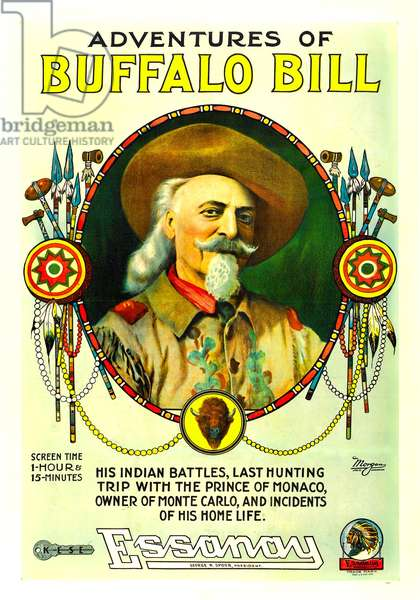 The Adventures of Buffalo Bill: THE ADVENTURES OF BUFFALO BILL, Buffalo Bill, 1917