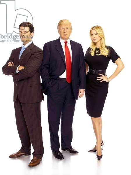 THE APPRENTICE 6, Donald Trump Jr., Donald Trump, Ivanka Trump, (Season 6), 2004-. photo: Virginia Sherwood / © NBC / Courtesy: Everett Collection
