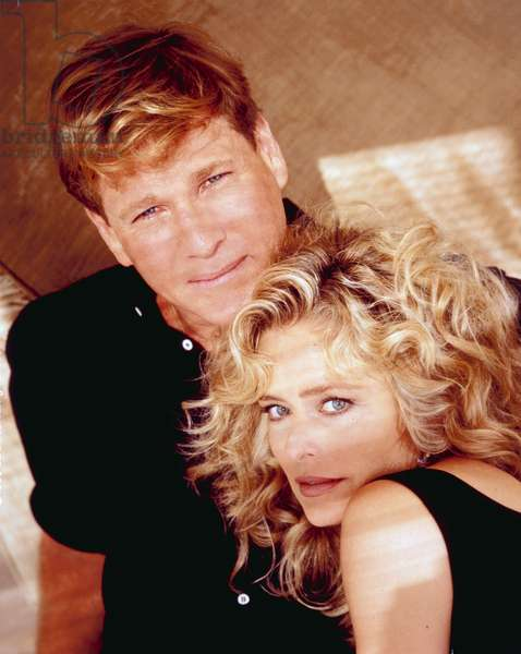 GOOD SPORTS, Ryan O'Neal, Farrah Fawcett, 1991. © Brillstein-Grey Entertainment / Courtesy: Everett Collection
