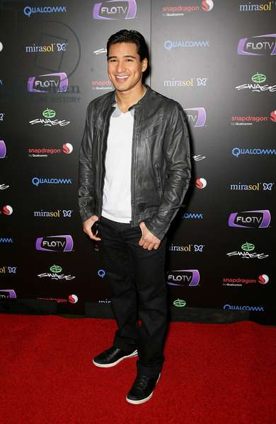 Mario Lopez at arrivals for SWAGG VIP Kid Rock Concert at the Joint, Hard Rock Hotel and Casino, Las Vegas, NV January 7, 2010. Photo By: MORA/Everett Collection