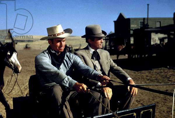 THE BIG COUNTRY, Charlton Heston, Gregory Peck, 1958