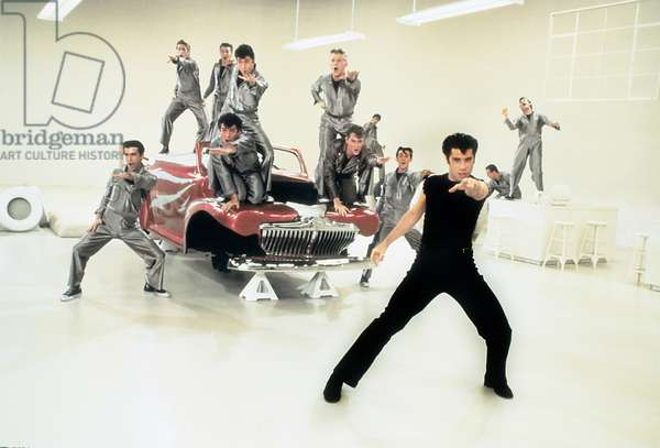 GREASE, John Travolta (front), 1978. © Paramount Pictures/ Courtesy: Everett Collection