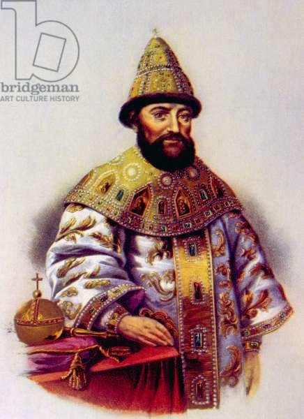 Michael Romanov, (aka Michael I), (1596-1645), Czar of Russia 1613-1645.