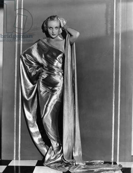 Carole Lombard, in a Paramount Portrait, 1931