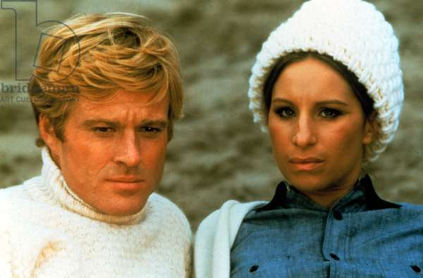 THE WAY WE WERE, Robert Redford, Barbra Streisand, 1973