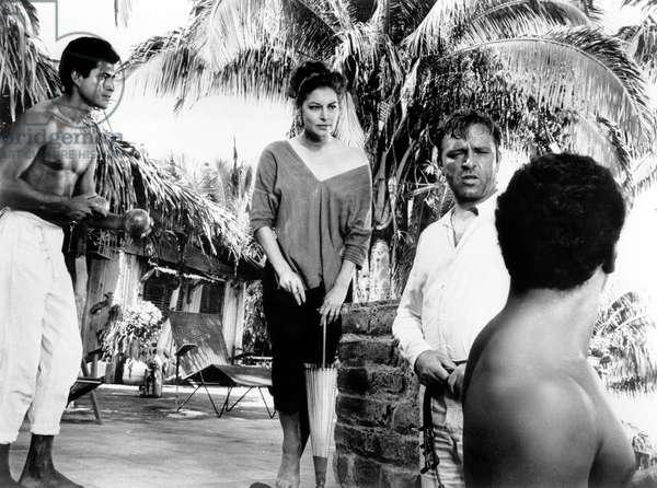 Night of the Iguana, Ava Gardner, Richard Burton, 1964
