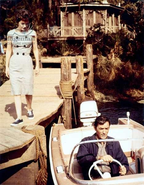 Les Nerfs a Vif: CAPE FEAR, Polly Bergen, Gregory Peck, 1962
