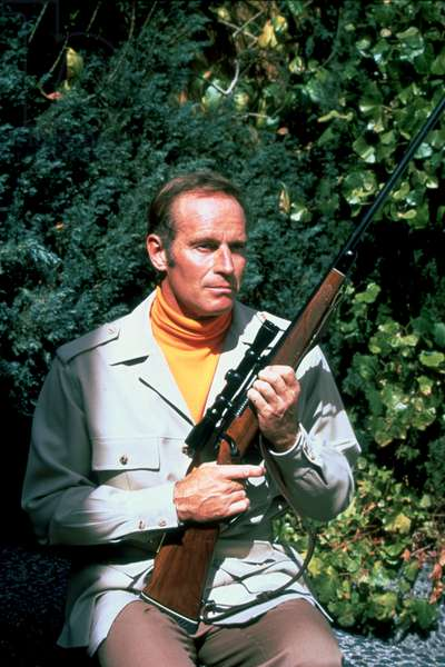 THE OMEGA MAN, Charlton Heston, 1971