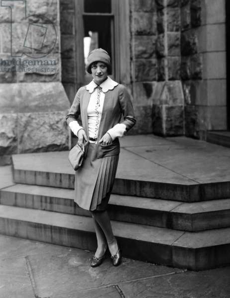 West Point: WEST POINT, Joan Crawford, in a suit by Gilbert Clark, 1927