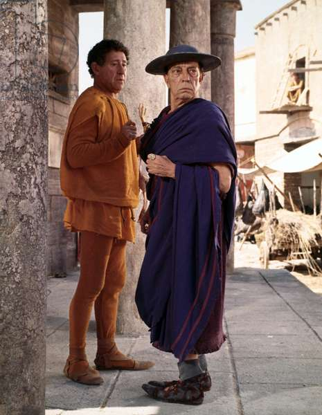 Le forum en folie: A FUNNY THING HAPPENED ONTHE WAY TO THE FORUM, Jack Gilford, Buster Keaton, 1966