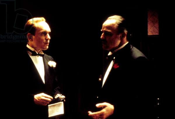 THE GODFATHER, Robert Duvall, Marlon Brando, 1972