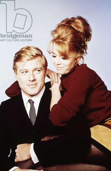BAREFOOT IN THE PARK, from left: Robert Redford, Jane Fonda, 1967