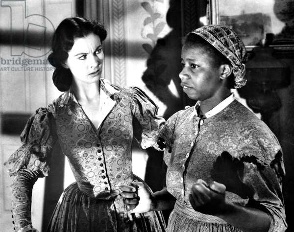 GONE WITH THE WIND, Vivien Leigh, Butterfly McQueen, 1939
