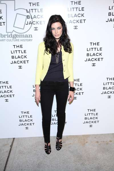 Jessica Paré at arrivals for The Little Black Jacket: CHANEL's Classic Revisited By Karl Lagerfeld And Carine Roitfeld New York Exhibition Celebration, Swiss Institute, New York, NY June 6, 2012. Photo By: Andres Otero/Everett Collection