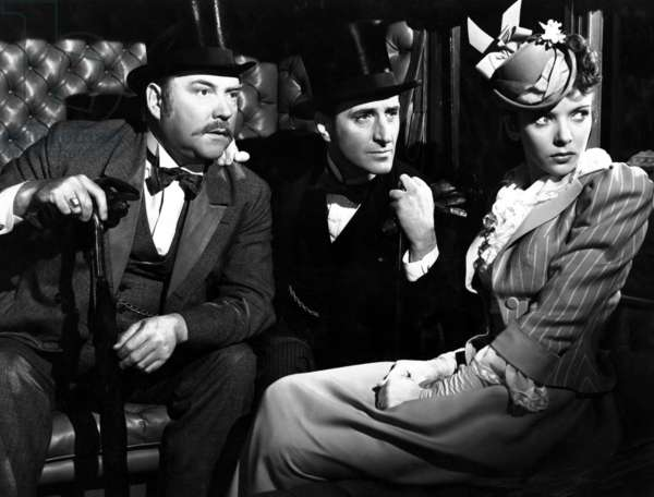 Les aventures de Sherlock Holmes: THE ADVENTURES OF SHERLOCK HOLMES, Nigel Bruce, Basil Rathbone, Ida Lupino, 1939, TM & Copyright (c) 20th Century Fox Film Corp. All rights reserved.