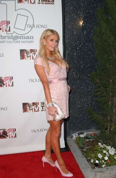Paris Hilton in attendance for MTV's THE HARD TIMES OF RJ BERGER and WARREN THE APE Series Launch Party, Trousdale Lounge, Los Angeles, CA June 7, 2010. Photo By: Tony Gonzalez/Everett Collection