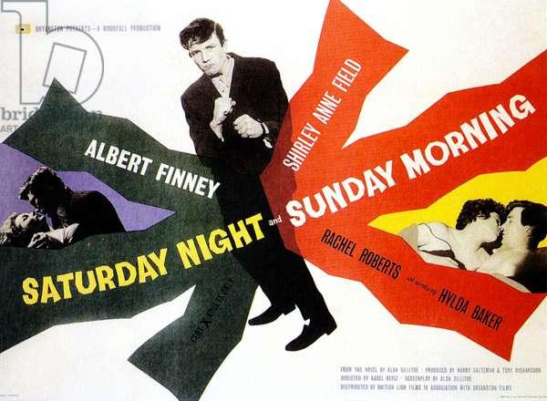 Samedi soir, dimanche matin: SATURDAY NIGHT AND SUNDAY MORNING, Albert Finney, 1960