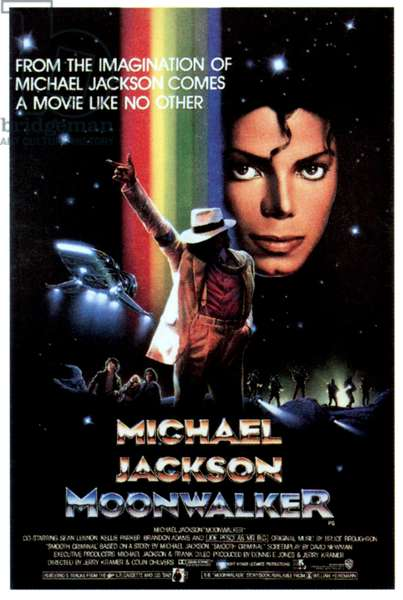 MOONWALKER, Michael Jackson, 1988, �Ultimate Productions/courtesy Everett Collection