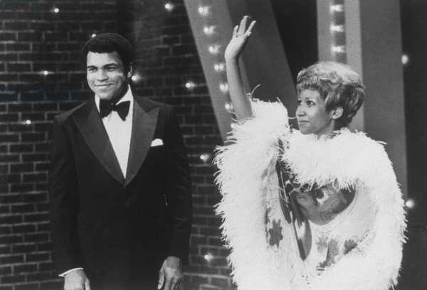 THE MUHAMMAD ALI VARIETY SPECIAL, Muhammad Ali, Aretha Franklin, 1975