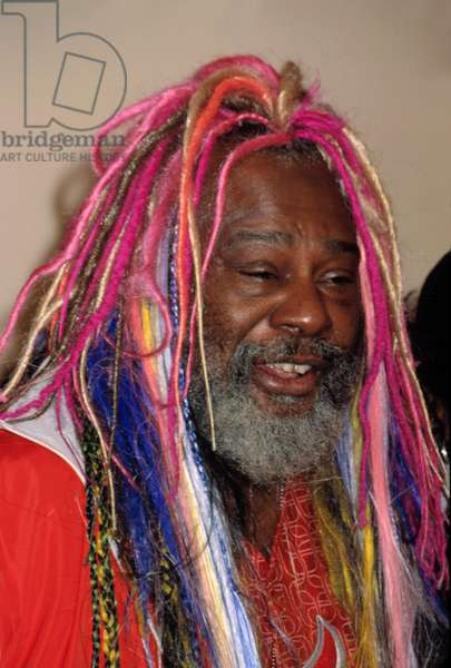 George Clinton at the VH1/ Vogue Fashion Awards, NYC, 10/19/01, by CJ Contino