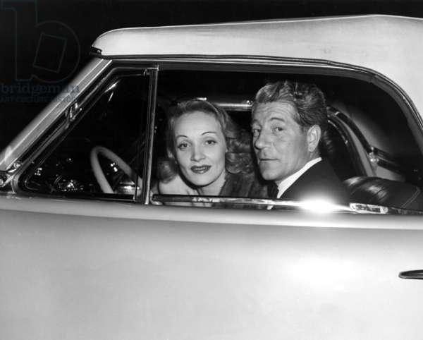 Marlene Dietrich, Jean Gabin, ca. 1940s