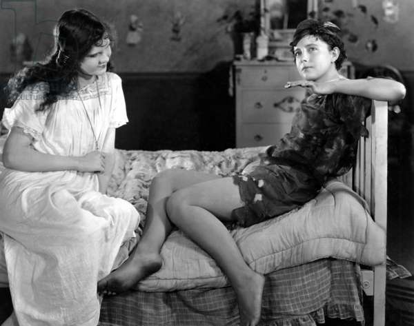 PETER PAN, Mary Brian, Betty Bronson, 1924