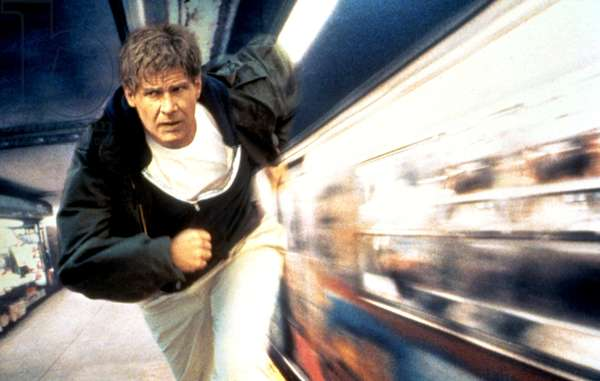 THE FUGITIVE, Harrison Ford, 1993, (c) Warner Brothers/courtesy Everett Collection