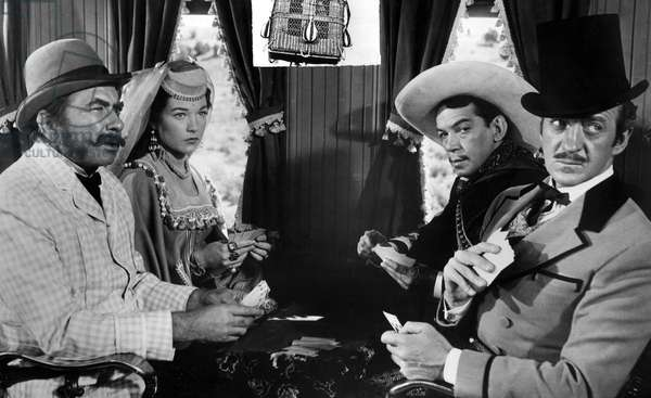 AROUND THE WORLD IN 80 DAYS, (aka AROUND THE WORLD IN EIGHTY DAYS), Robert Newton, Shirley MacLaine, Cantinflas, David Niven, 1956. TM and Copyright (c) 20th Century Fox Film Corp. All rights reserved. Courtesy: Everett Collection.